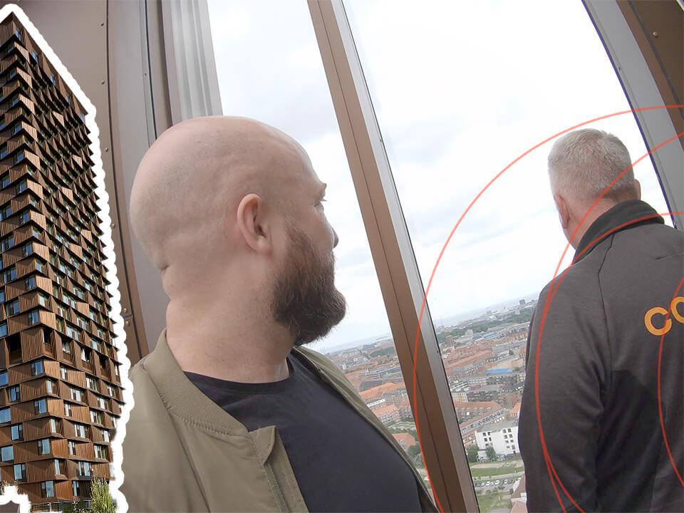 Turen går til 29. etage